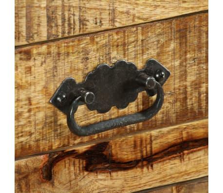 vidaXL Buffet avec 2 tiroirs et 1 armoire Bois de manguier brut[10/12]