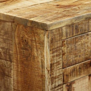 vidaXL Buffet avec 2 tiroirs et 1 armoire Bois de manguier brut[11/12]