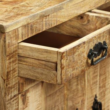 vidaXL Buffet avec 2 tiroirs et 1 armoire Bois de manguier brut[8/12]