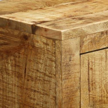 vidaXL Buffet avec 3 tiroirs Bois de manguier brut[11/12]