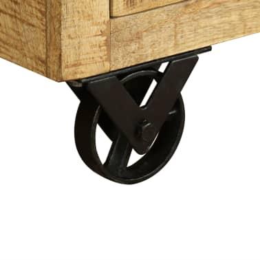 vidaXL Buffet avec 3 tiroirs Bois de manguier brut[9/12]