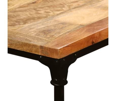"""vidaXL Dining Table Solid Mango Wood 70.9""""[9/13]"""