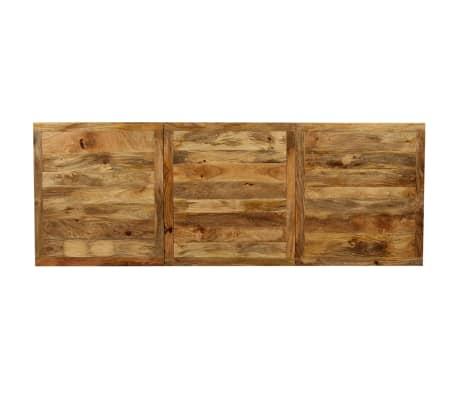 """vidaXL Dining Table Solid Mango Wood 70.9""""[10/13]"""