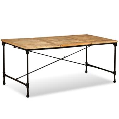 """vidaXL Dining Table Solid Mango Wood 70.9""""[2/13]"""