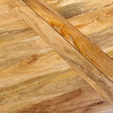 """vidaXL Dining Table Solid Mango Wood 70.9""""[11/13]"""