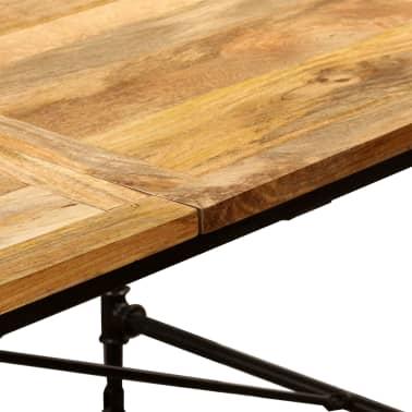 """vidaXL Dining Table Solid Mango Wood 70.9""""[8/13]"""