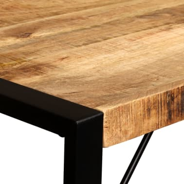 "vidaXL Dining Table Solid Rough Mango Wood 47.2""[9/12]"