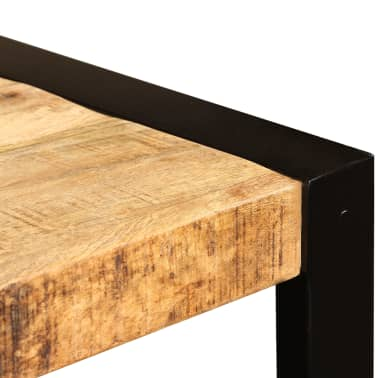 "vidaXL Dining Table Solid Rough Mango Wood 47.2""[10/12]"
