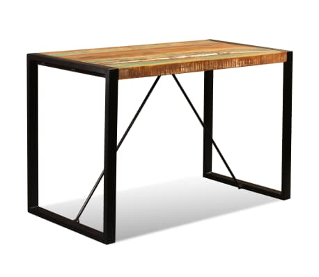 "vidaXL Dining Table Solid Reclaimed Wood 47.2""[5/12]"