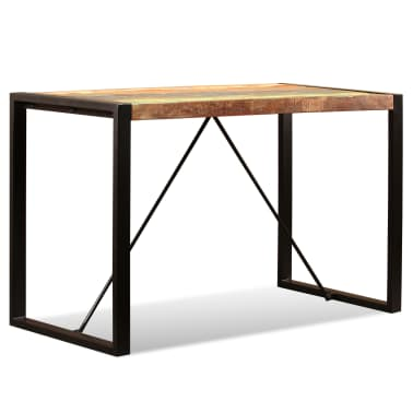 "vidaXL Dining Table Solid Reclaimed Wood 47.2""[6/12]"