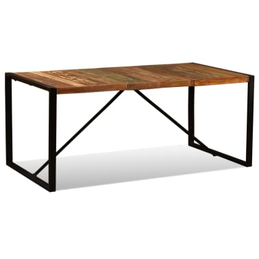 vidaXL Eettafel 180 cm massief gerecycled hout[1/11]
