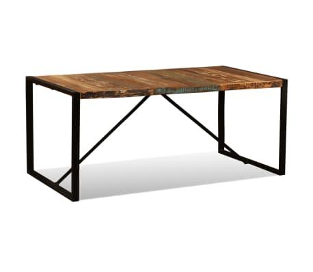 vidaXL Eettafel 180 cm massief gerecycled hout[2/11]