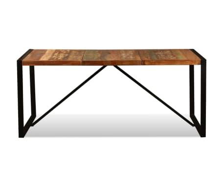 vidaXL Eettafel 180 cm massief gerecycled hout[8/11]