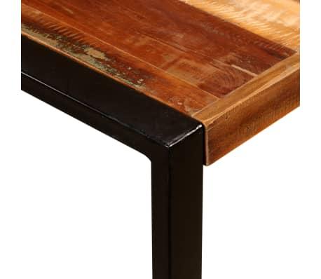 vidaXL Eettafel 180 cm massief gerecycled hout[9/11]