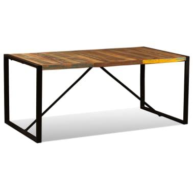 vidaXL Dining Table Solid Reclaimed Wood 180 cm[3/11]
