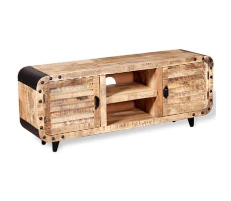"vidaXL TV Cabinet Rough Mango Wood 47.2""x11.8""x19.7""[5/9]"