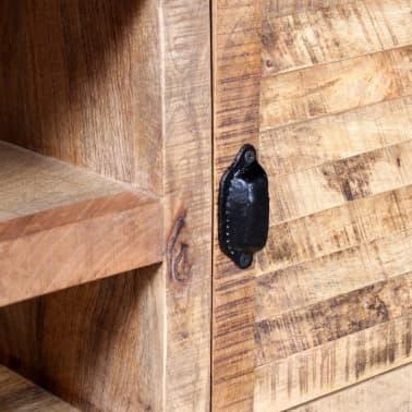 "vidaXL TV Cabinet Rough Mango Wood 47.2""x11.8""x19.7""[7/9]"