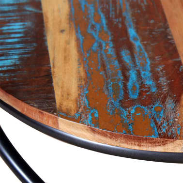 vidaXL Stolik kawowy z drewna odzyskanego 60x60x40 cm[7/9]