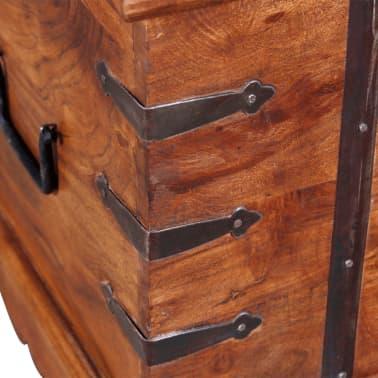vidaXL Skrynia, daiktadėžė iš masyvios medienos[3/9]