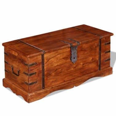 vidaXL Skrynia, daiktadėžė iš masyvios medienos[9/9]