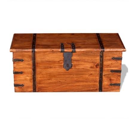 vidaXL 2 Piece Storage Chest Set Solid Wood[4/12]