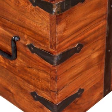 vidaXL 2 Piece Storage Chest Set Solid Wood[6/12]