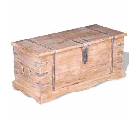 vidaXL Storage Chest Acacia Wood[8/9]