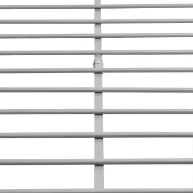 vidaXL Bedframe metaal grijs 140x200 cm[6/8]