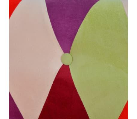 vidaXL Chesterfield Sofa 2-Seater Fabric[4/4]