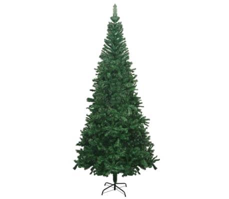 vidaXL mākslīgā Ziemassvētku egle L, 240 cm, zaļa