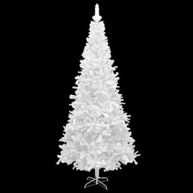 vidaXL Kunstkerstboom wit L 240 cm[2/6]