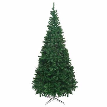 vidaXL mākslīgā Ziemassvētku egle XL, 300 cm, zaļa[2/7]