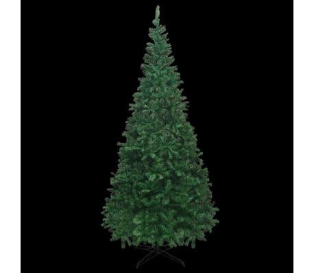 vidaXL mākslīgā Ziemassvētku egle XL, 300 cm, zaļa[3/7]