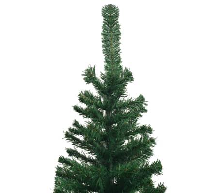 vidaXL mākslīgā Ziemassvētku egle XL, 300 cm, zaļa[4/7]