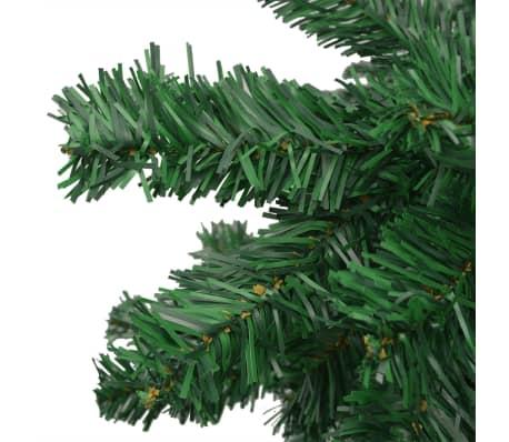 vidaXL mākslīgā Ziemassvētku egle XL, 300 cm, zaļa[5/7]
