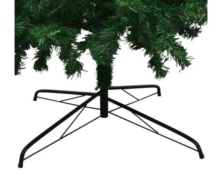 vidaXL mākslīgā Ziemassvētku egle XL, 300 cm, zaļa[6/7]