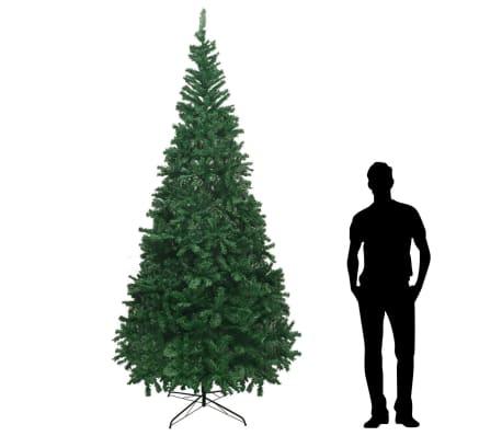 vidaXL mākslīgā Ziemassvētku egle XL, 300 cm, zaļa[1/7]