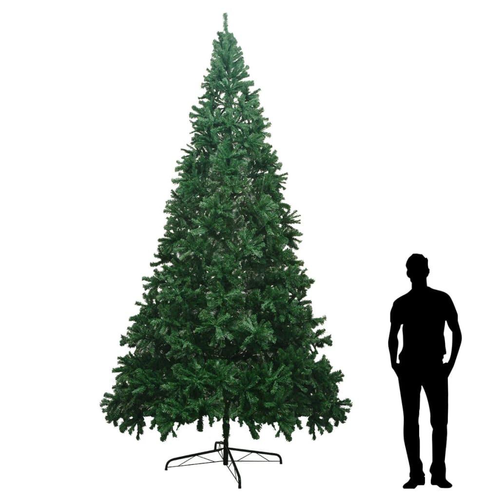 Künstlicher Weihnachtsbaum Auf Rechnung.Vidaxl Künstlicher Weihnachtsbaum Xxl 400 Cm Grün Vidaxl De