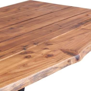 """vidaXL Dining Table Solid Acacia Wood 70.9""""x35.4""""[4/7]"""