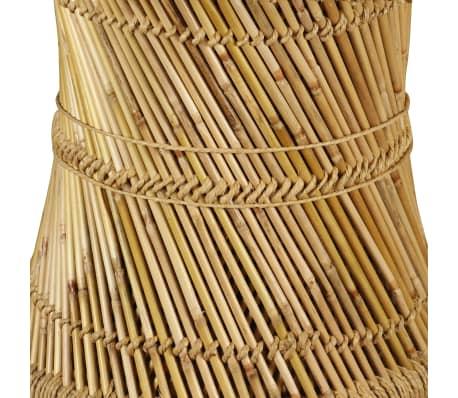 vidaXL Bambukinis kavos staliukas, aštuonkampis, 60x60x45 cm[8/9]