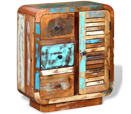 vidaXL Spintelė iš perdirbtos medienos