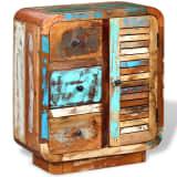 vidaXL Komoda z masívneho regenerovaného dreva