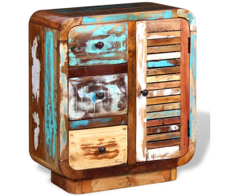 vidaXL Spintelė iš perdirbtos medienos[2/8]