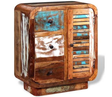 vidaXL Sideboard Solid Reclaimed Wood[3/8]