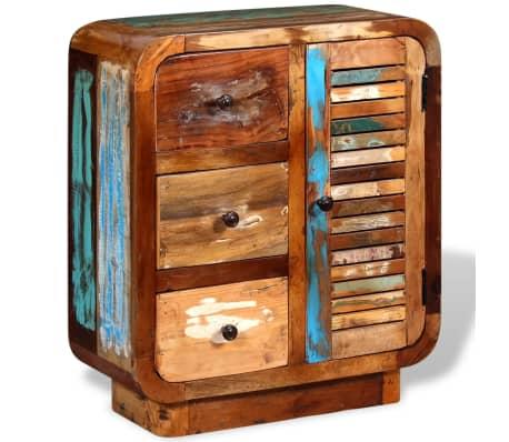 vidaXL Sideboard Solid Reclaimed Wood[4/8]