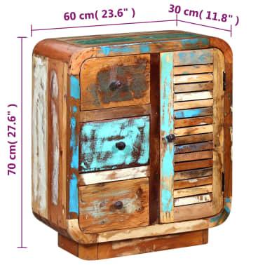 vidaXL Sideboard Solid Reclaimed Wood[8/8]