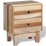 vidaXL Noptieră din lemn masiv reciclat