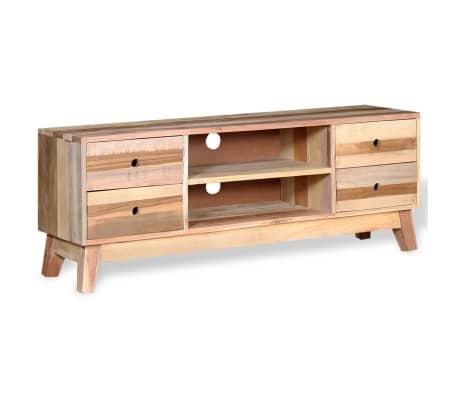 vidaXL Comodă TV din lemn reciclat de esență tare[3/9]