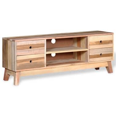 Vidaxl meuble tv bois de r cup ration massif - Recuperation de meuble gratuit ...