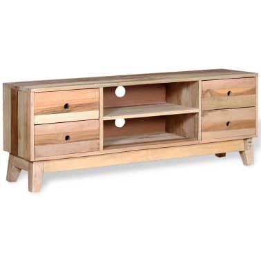 vidaXL Comodă TV din lemn reciclat de esență tare[5/9]